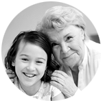Liceum talla U abuela y nieta