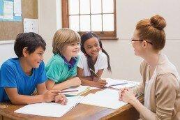 Taller de técnicas de estudio para niños en el que todos participan