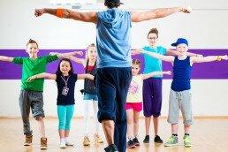 Clases de danza urbana para niñas y niños en Liceum Gimnasios de la Mente