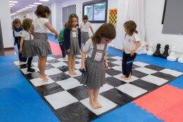 Clases de psicomotricidad y ajedrez en Liceum